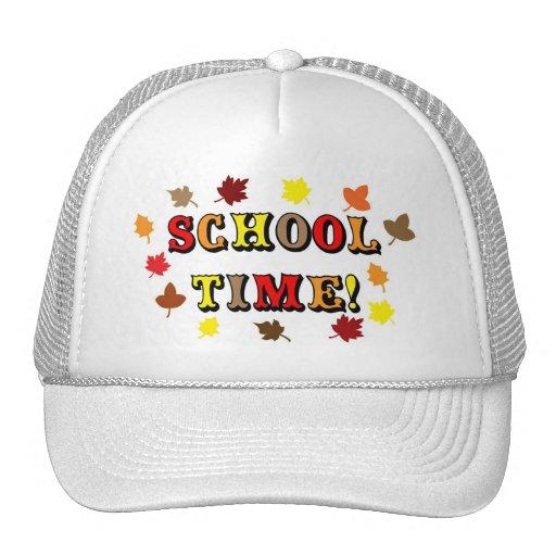 School Time Trucker Hat