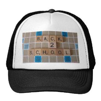 School time trucker hats
