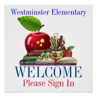 School Welcome - SRF Poster
