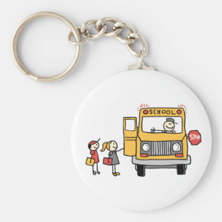 Schoolbus Keychain