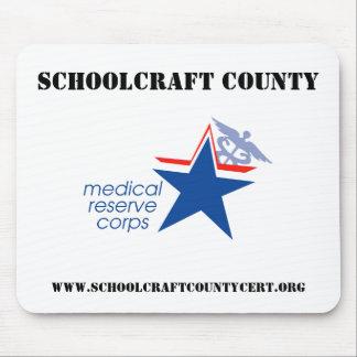 Schoolcraft County MRC Mousepad