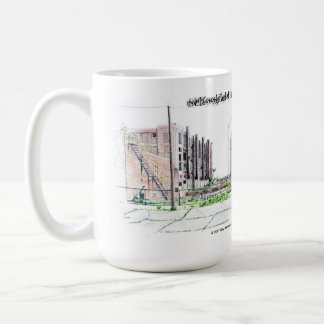 Schoolfield Mill Ghost of Danville Cofee Mug