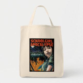 Schoolgirl Apocalypse Eco Bag! Grocery Tote Bag