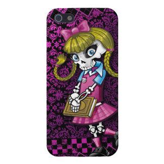 Schoolgirl Skeleton iPhone 5/5S Cover