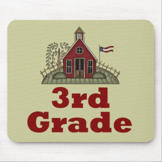 Schoolhouse Third Grade Teacher Mousepad