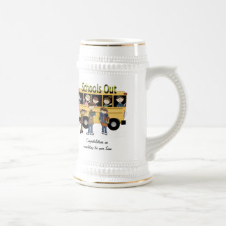Schools Out Beer Stein