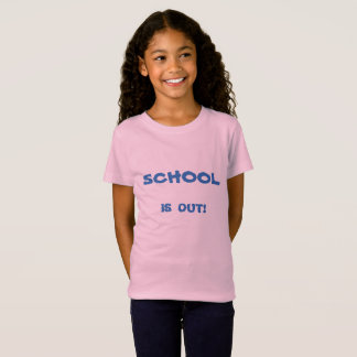 SCHOOL'S OUT PINK T-SHIRT