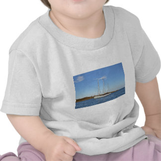 Schooner In The Isles Of Scilly T Shirts