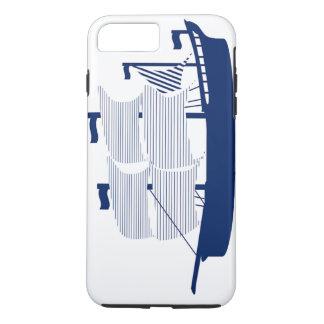 Schooner Navy iPhone 7 Plus Case