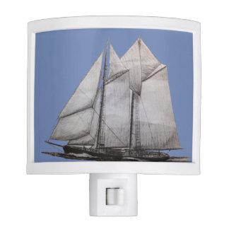 schooner nigth light night light