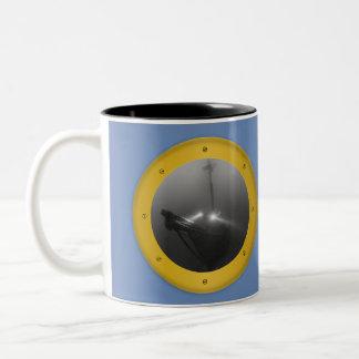 Schooner Typo Coffee Mug
