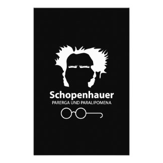 Schopenhauer Parerga Confidence ED. Custom Stationery