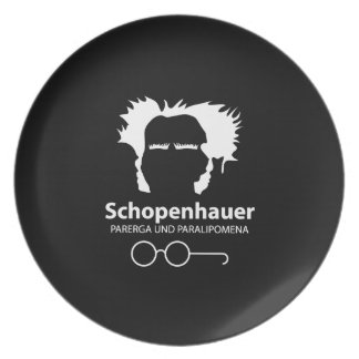 Schopenhauer Parerga Confidence ED. Plate