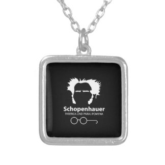 Schopenhauer Parerga Confidence ED. Silver Plated Necklace