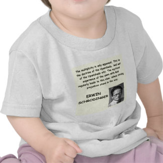 schrodinger quote shirts
