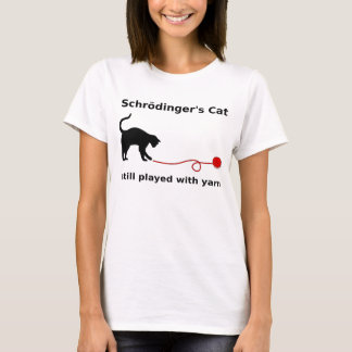 """Schrödinger's Cat"" Shirt (Light)"