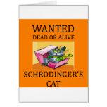 schrodinger's cat joke card