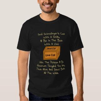 Schrodinger's Cat Limerick Tee Shirt