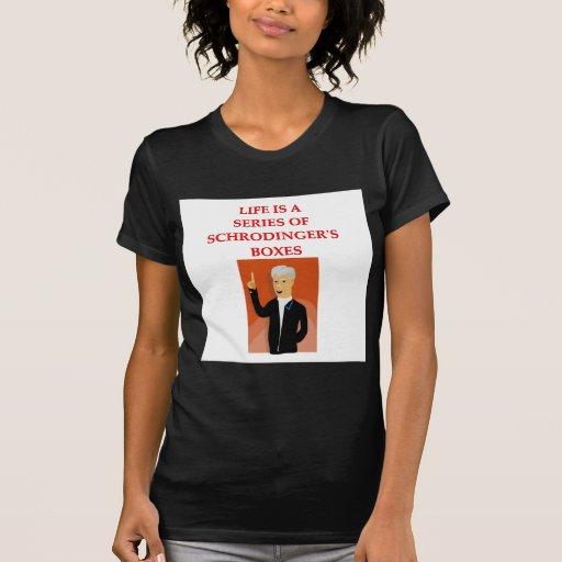 schrodinger's cat tshirts