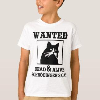Schrodinger's Cat - Wanted Tshirt