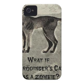 schrodingers cat zombie iPhone 4 Case-Mate cases