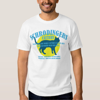 Schrodingers Cattery T Shirt