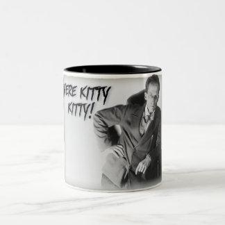 Schroedinger's Cat Two-Tone Coffee Mug