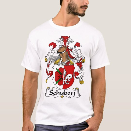 Schubert Family Coat of Arms T-Shirt