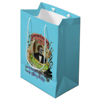 Schubird Animal Composer Schubert Parody Medium Gift Bag
