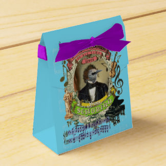 Schubird Great Animal Composer Schubert Bird Favor Boxes