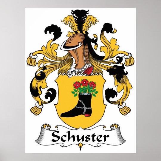 Schuster Family Crest Poster