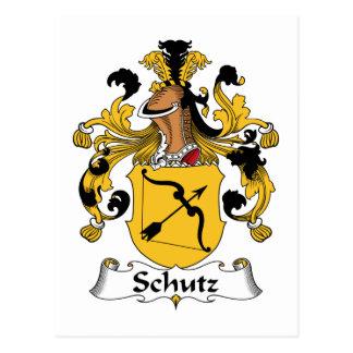 Schutz Family Crest Postcards