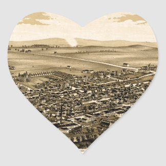 schuylerville1889 heart sticker