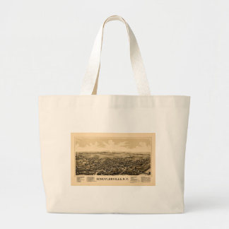 schuylerville1889 large tote bag