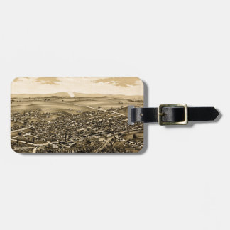 schuylerville1889 luggage tag