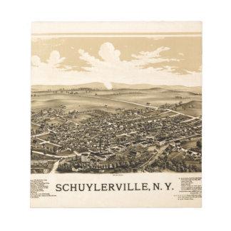 schuylerville1889 notepad