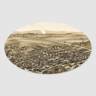schuylerville1889 oval sticker