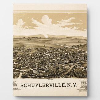 schuylerville1889 plaque
