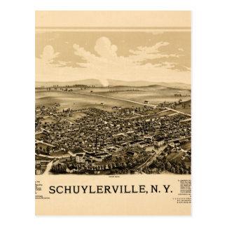 schuylerville1889 postcard