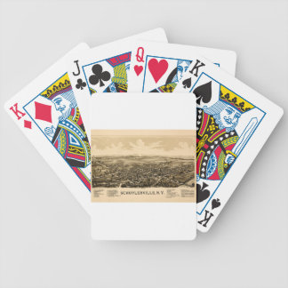 Schuylerville 1889 bicycle playing cards