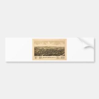 Schuylerville 1889 bumper sticker