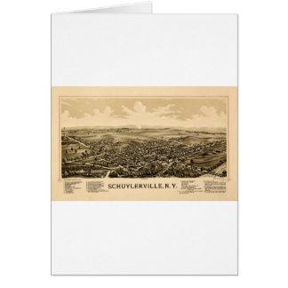 Schuylerville 1889 card