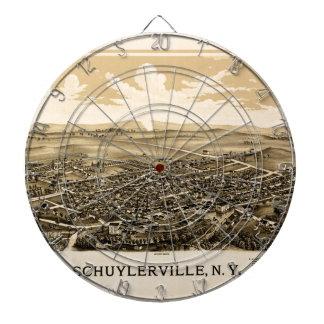 Schuylerville 1889 dartboard