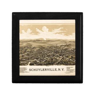 Schuylerville 1889 gift box