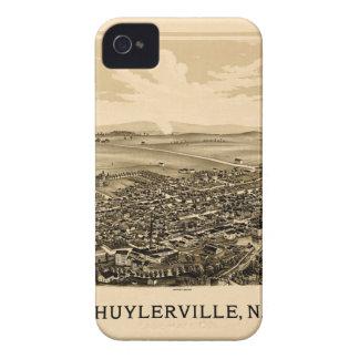 Schuylerville 1889 iPhone 4 Case-Mate cases