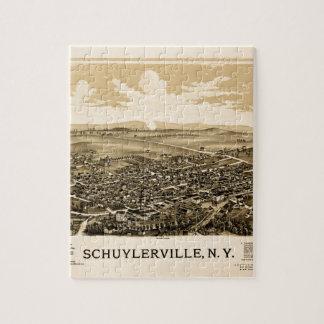 Schuylerville 1889 jigsaw puzzle