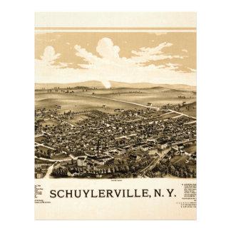Schuylerville 1889 letterhead