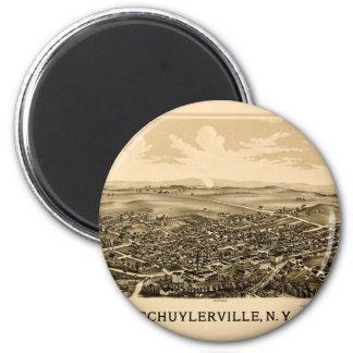 Schuylerville 1889 magnet