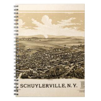 Schuylerville 1889 notebooks
