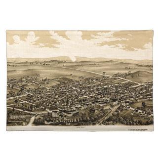 Schuylerville 1889 placemat